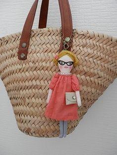 Fabric Dolls, Softies, Doll Toys, Puppets, Gifts For Friends, Art Dolls, Sock, Folk Art, Keys