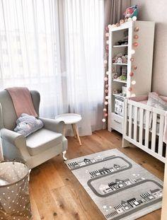 Znalezione obrazy dla zapytania pokój niemowlaka dziewczynka
