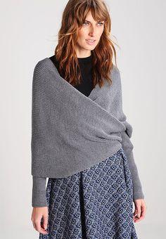 Esprit Collection Kardigan - grey za 249 zł zamów bezpłatnie na Zalando. Grey, Winter, Collection, Fashion, Gray, Winter Time, Moda, Fashion Styles, Fashion Illustrations