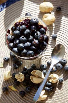 Healthy breakfast – granola, greek yogurt and jam - sourdoughmovement.com