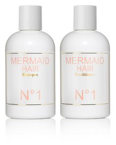 mermaid hair shampoo & conditioner