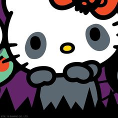 Hello Kitty Halloween 2, Halloween Costumes, Sanrio Characters, Fictional Characters, Instagram Grid, Sanrio Hello Kitty, Trick Or Treat, Pumpkin Carving, Superhero Logos