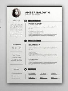 Charming Floral Designer Resume - Canva | RESUMES | Pinterest ...