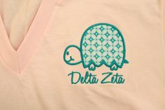 cute take on a double back! you can get these precious v-necks at the Embroidery Shop in the Dahlonega Square!