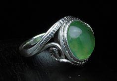 Guarda questo articolo nel mio negozio Etsy https://www.etsy.com/it/listing/527456082/anello-in-argento-massiccio-con-prehnite