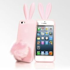 $10 Rabito Bunny Ears iPhone 5 Cases - Pink