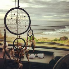 I need a dream catcher for my car and an ocean to see out my windshield :) Summer Of Love, Pretty Pictures, The Dreamers, Summertime, Art Photography, Surfing, Waves, Beach, Beautiful