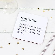 Coasters with true booze-lover terminology. | 25 Valentine's Day Gifts For Anyone Who Loves To Drink