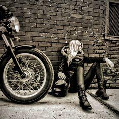 #Biker #Girl #Cool