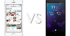Iphone 5S vs Nexus 5, sfida tra colossi