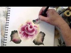 One Stroke Painting: How To Use the Angle Brush.m4v - YouTubeUnterricht Malen