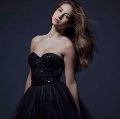Coleen Garcia Coleen Garcia, Strapless Dress Formal, Formal Dresses, Hair, Fashion, Dresses For Formal, Moda, Formal Gowns, Fashion Styles