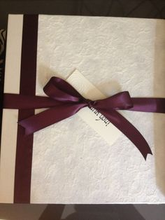 Wedding Planning Binder with Pocketed Tabs ivory & by InkZot, $60.00
