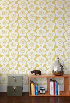 Aimee Wilder - Pop Floral Wallpaper popfloralwp at 2Modern