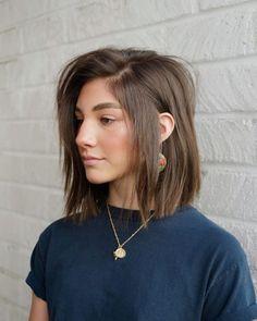 Short Shoulder Length Hair, One Length Hair, Shoulder Haircut, Shoulder Length Bob Haircuts, Should Length Hair, Styling Shoulder Length Hair, Brunette Shoulder Length Hair, Shoulder Bob, Medium Hair Cuts