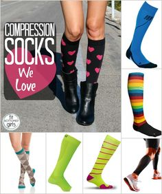 Do you love compression socks? You're going to want to check out a few of our favorites!