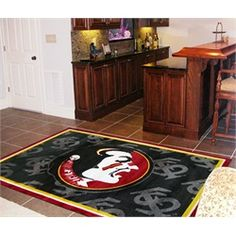 FSU Florida State University Area Rug Carpet Flooring 4x6