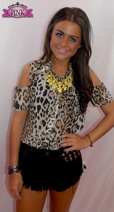 Wild Thang Leopard Top