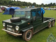 Tuck In Time & we close the show with a Sweeeet 6 Wheeled Mk2 Mini Scamp! Just looks too cool. Goodnight folks