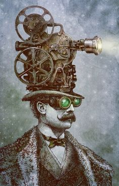 Witty Artworks by Eric Fan love steampunk
