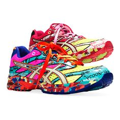 The Asics Gel Noose Tri 6.  I love this show, the men's is the bottom shoe and it's just simply cool.