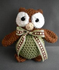 Sweet owl baby <3 Kristin is the best at hooking! :D