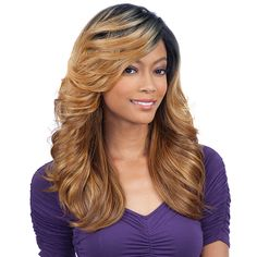 Freetress Equal  3 Way Lace Part Synthetic Hair Lace Front Wig - MARVEL (futura) [8418]
