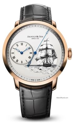 Arnold & Son - HMS Beagle Set - 2. A trio of timepieces marking Charles Darwin's voyage of discovery.