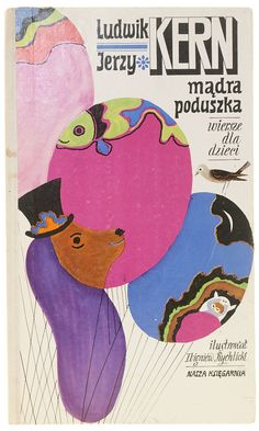 Cover illus. by Zbigniew Rychlicki for Mądra poduszka, 1977  From the collection of Hipopotam