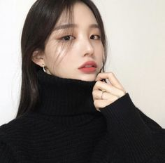cute makeup – Hair and beauty tips, tricks and tutorials Korean Makeup Look, Korean Makeup Tips, Asian Makeup, Korean Natural Makeup, Pretty Korean Girls, Cute Korean Girl, Beautiful Asian Girls, Make Up Korean, Korean Face