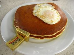 Happy National Pancake Lovers Day! Need a fork? #pancakes