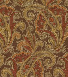Upholstery Fabric-Waverly Tamsin Henna