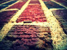 brick wall, close-up