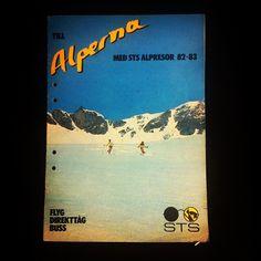 En av de tidigare katalogerna! Pappret är matt och tjockt, sol en gammal serietidning för de som minns. Underbar! :D #throwbackthursday #tbt #katalog #stsalpresor #feeling #snow #80s