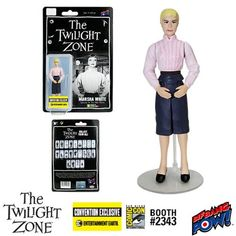 Syfys twilight zone marathon your guide to all 156 episodes with the twilight zone the after hours marsha white 3 34 inch action figure toneelgroepblik Choice Image
