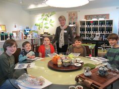 In our Children's Tea & Etiquette class we visit five countries in the world to experience their tea traditions.