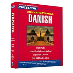 Danish Audio CD free shipping deal  Pimsleur Danish Conversational Course  Level 1 Lessons 1-16 CD: Learn to Speak and Understand Danish with Pimsleur Language Programs