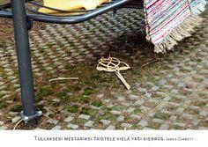 Mattopiiska ja matot saaneet kyytiä (NL) | Perromania - pieni postikorttikauppa