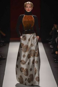 I'm sure very few other people agree with me but I fucking love this look. Carolina Herrera Fall 2013 RTW.