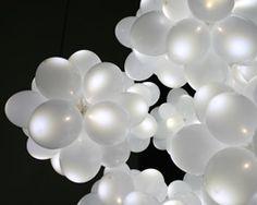 white balloon lamp by kyouei design