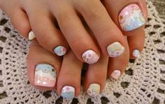 summer☆nailcollection...foot☆