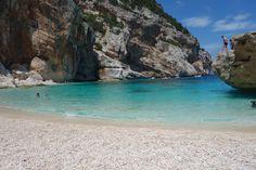 Turquoise Beaches Of Cala Gonone Sardinia