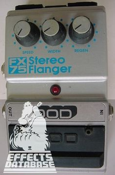 DOD FX75 Stereo Flanger | DiscoFreq's Effects Database