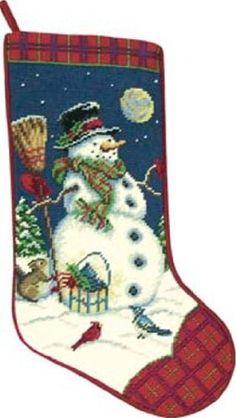 Snowman Christmas Stocking - Needlepoint by C, http://www.amazon.com/dp/B002TNU3T4/ref=cm_sw_r_pi_dp_93q3qb0PFSBV1