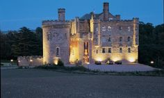 Dalhousie Castle Hotel and Spa - a 13th century Scottish fortress located 25 minutes outside Edinburgh.