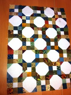 Magpie Quilts: 9 patch and Snowball Doll Quilt Tutorial