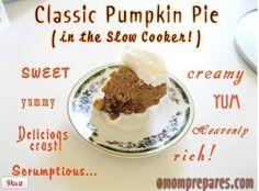 Pumpkin Slow Cooker Chex Party Mix Recipe | AllFreeSlowCookerRecipes.com
