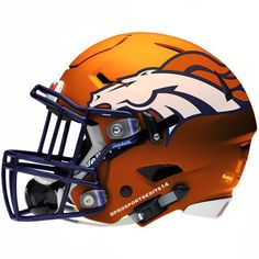 Denver Broncos helmet! We'll see you this Sunday!