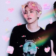 Exo, Baekhyun, Soft Heart, Cute Icons, Editing Pictures, Photo Effects, Kpop Groups, Kpop Girls, Cute Puppies