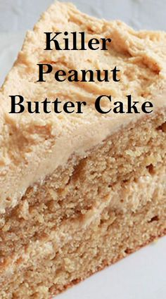 My old fashioned peanut butter cake recipe is a classic cake perfect for peanut butter lovers. Peanut butter is baked right into the batter and whipped into the frosting! This homemade cake recipe is amazing for desserts. Peanut Butter Desserts, Peanut Butter Cookies, Peanut Butter Layer Cake Recipe, Easy Peanut Butter Recipes, Old Cake Recipe, Peanut Cake, Layer Cake Recipes, Easy Cake Recipes, Layer Cakes